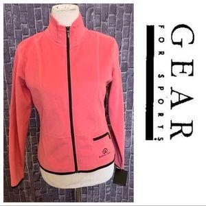 NWT Lux Fleece Full Zip Jacket in Berry